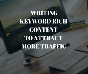 writing keyword rich content