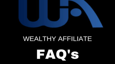 wealthy affiliate faq's quick review